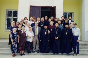 В ППЦ после освящения престола, 19 сентября 2000 года